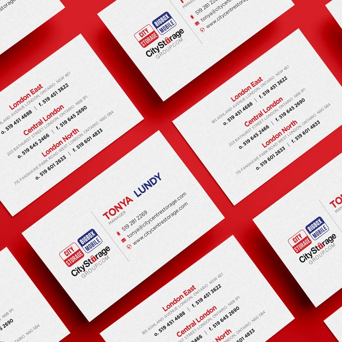City Storage Group Business Card