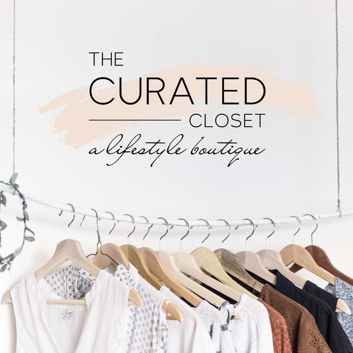 The Curated Closet Logo