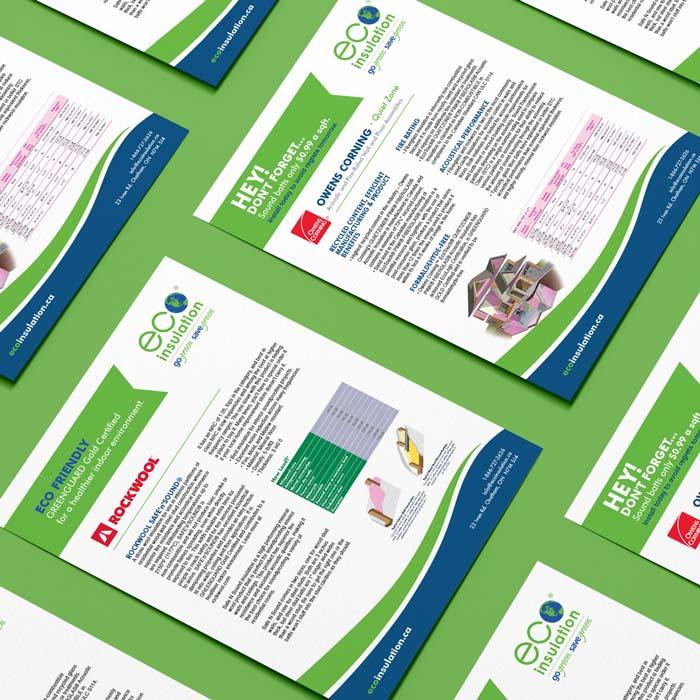 Eco Insulation Flyer