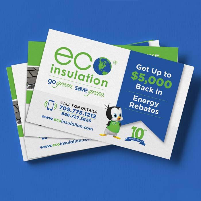 Eco Insulation Postcard