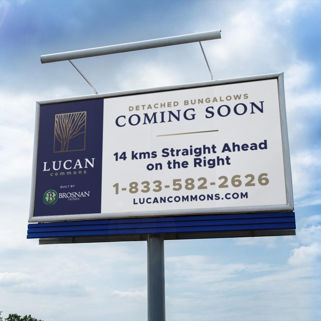 Lucan Commons Billboard