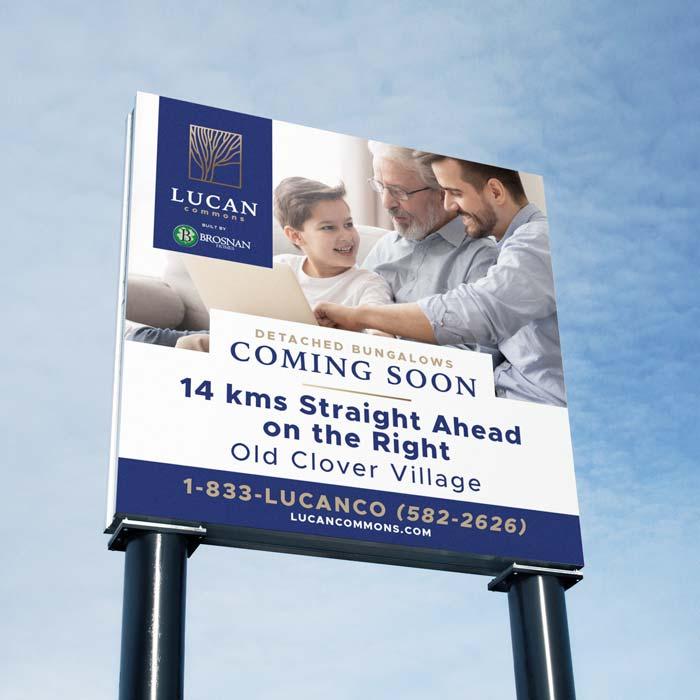 Lucan Commons Square Billboard