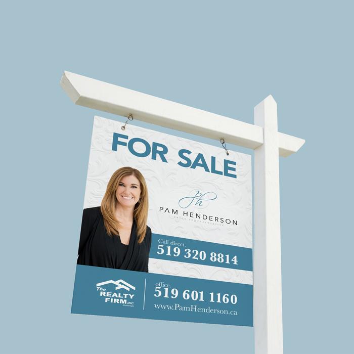 Pam Henderson – REALTOR® For Sale Sign