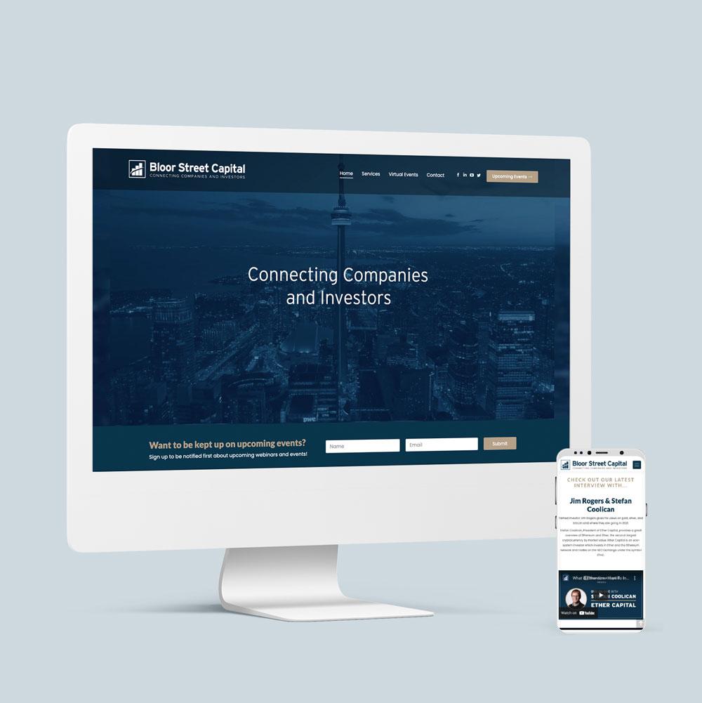 Bloor Street Capital Website