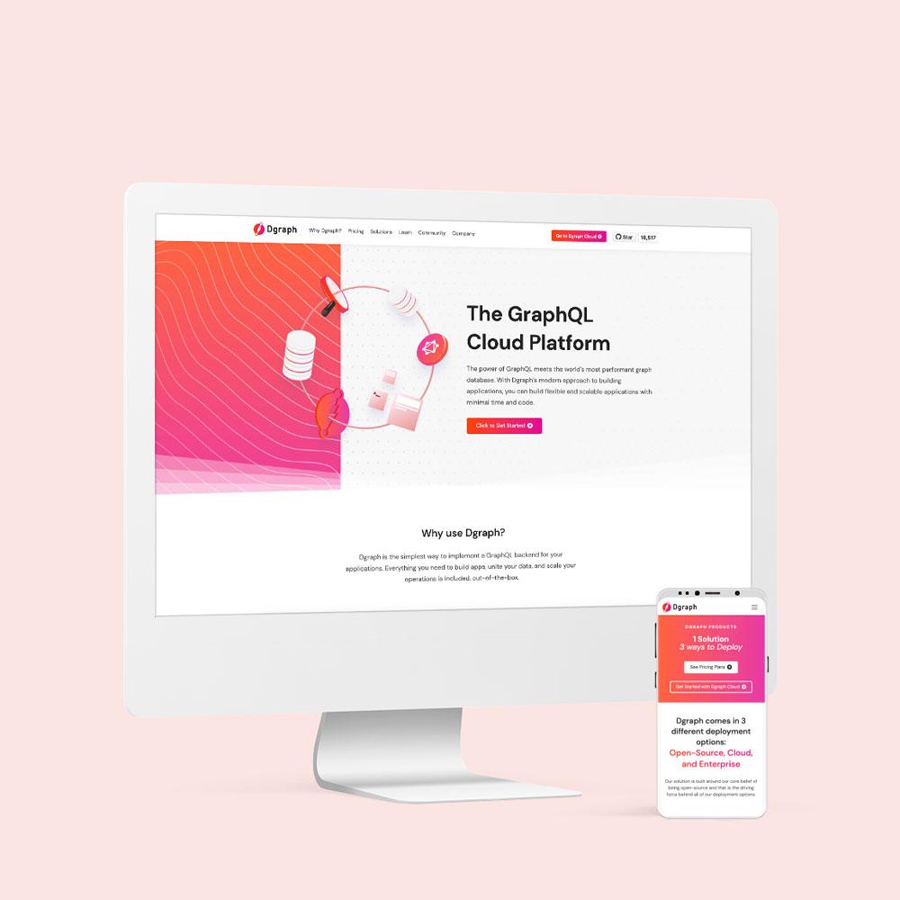 Dgraph Labs, Inc. Website