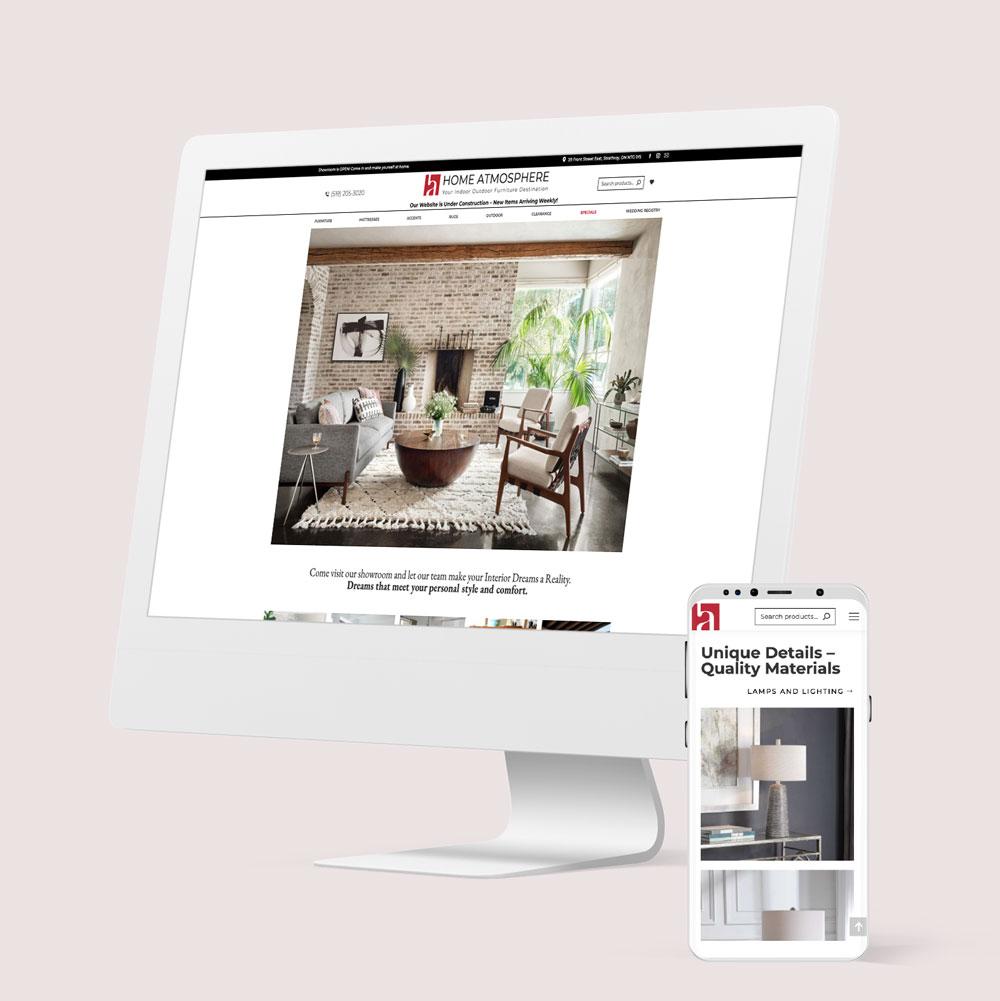 Home Atmosphere Website